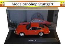 Porsche 912 Coupé orange - Spark 1:43 MAP02001317 - Museum Edition - fabrikneu