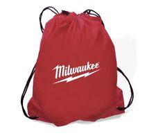 "Milwaukee Tool String A Sling Backpack - Nylon String Sack Style Bag 14"" x 18"""