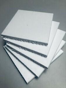 Polystyrene White Sheets Foam Packing Grade Protection Light 24cm x 24cm x 2cm