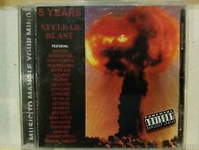 5 YEARS NUCLEAR BLAST CD! W/MACABRE-GOREFEST-DISMEMBER-PUNGENT STENCH! EX