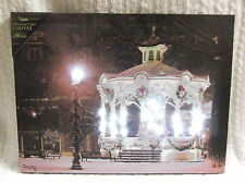 Town Square Lighted Canvas Wall Decor Sign Gazebo