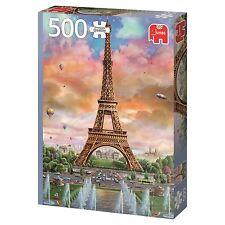 Jumbo Premium Quality 500 Piece Jigsaw Puzzle - Eiffel Towe, Paris, France 18533