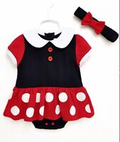 New Top Quality Baby Girl Cute Minnie Mouse 2 Piece set outfit birthday present