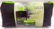 3D MensioN : Shampoo Hair & Body Champu 250ML + Texture Clay 100ML SchwarzkopF
