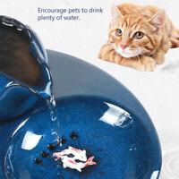 1.3L Automatic Pet Water Drinking Fountain Cat USB Circulating Dispenser Drinker