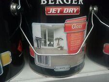 BERGER BY DULUX 10 LITRE JET-DRY PAVING OIL/BASE GLOSS WHITE COLOUR PAINT