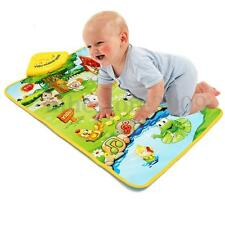 Farm Animal Carpet Music Sound Singing Kids Baby Children Play Mat Gym Toy