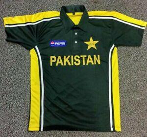 """Pakistan ODI Cricket Shirt, """"Max & Paddy"""" Style S,M,L,XL,XXL & XXXL from £24.95p"""