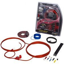 Vortex v-303 8awg 1500 Watts Pico Auto Altavoz Amplificador Sub Amplificador Power Kit De Cables