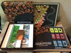 MARIPOSAS Board Game COMPLETE Elizabeth Hargrave (Wingspan) AEG
