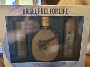 Diesel Fuel For Life Gift Set 50ml use with caution