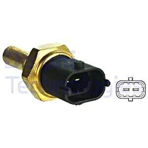 DELPHI Coolant Temperature Sender Unit Black For VAUXHALL OPEL FIAT 4C 6338046