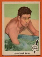 1959 Fleer #49 Ted Williams VG-VGEX MARKED Boston Red Sox FREE SHIPPING