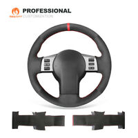 NEW Black Suede Car Steering Wheel Cover for Nissan 350Z For Infiniti FX35 FX45