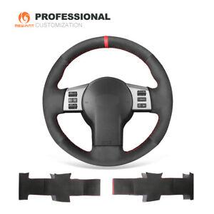 Black Suede Car Steering Wheel Cover for Infiniti FX FX35 FX45 for Nissan 350Z