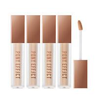 PONY EFFECT Coverstay Liquid Concealer 4Color 6g - Korea Cosmetics