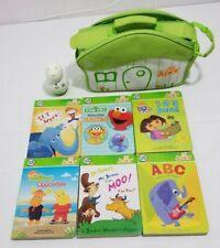 Leapfrog Tag Junior Lot of 6 Books + Reader + Carrying Case - Learning Set