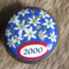 FABULOUS HALCYON DAYS  ENAMELLED STAR OF BETHLEHEM 2000 MINIATURE BOX R8 A/F