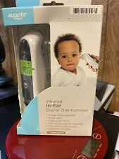 Equate Infrared In-Ear Digital Thermometer Adult Child FREE SHIPPING