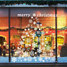 48x Christmas Window Clings Stickers Snowflake Sticker Vinyl Decal Home Decor