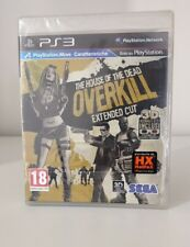 THE HOUSE OF THE DEAD OVERKILL EXTENDED   PS3 PLAYSTATION 3 SIGILLATO ITALIANO