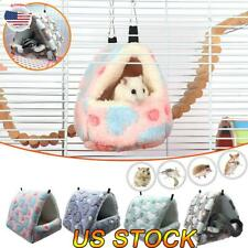 Hamster Cotton Nest Hanging Hammock House Pet Ferret Rat Squirrel Sleeping Bag