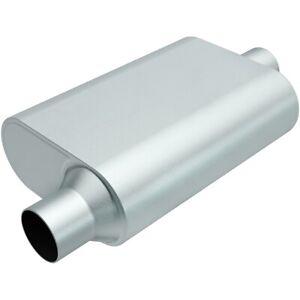 MAGNAFLOW PERF EXHAUST Rumble Aluminizd Muffler 2.5in Offset In/Center P/N - R22