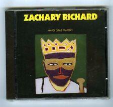 ZACHARY RICHARD CD (NEW) MARDI GRAS MAMBO