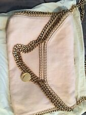 Stella McCartney Light Pink Falabella Purse Bag With Gold Hardware