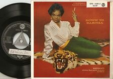 EARTHA KITT  DOWN TO EARTHA EP GERMAN 45+PS 1955 LOOKING FOR A BOY OH JOHN! JAZZ