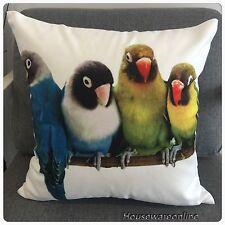 Parrots Print Cushion Cover 45cm