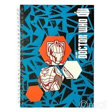 NUOVO Doctor WHO MONDI IN TEMPO Cyberman Taccuino Blocco Note Scuola Libro Ufficiale