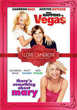 WHAT HAPPENS IN VEGAS/THERE'S SOMETHING ABOUT MARY USED - VERY GOOD DVD