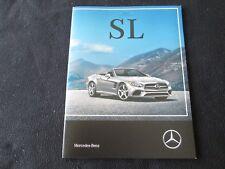 2017 Mercedes Benz SL-class Brochure SL550 SL450 SL63 SL65 AMG R231 Sale Catalog
