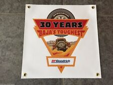 BF Goodrich Tires Baja's Toughest banner sign shop garage wall prerunner truck
