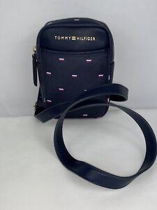 Tommy Hilfiger Crossbody Bag Phone Shoulder Bag Navy Blue $68 New