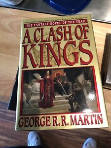 a clash of kings hardcover Signed.