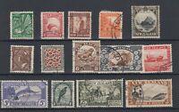 New Zealand 1935 Pictorial Set To 3/- SG556/559 VFU JK1502