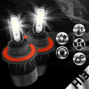 2PCS 168W 48800LM LED H13 9008 Headlight Bulbs High Low Beam Work Lamps Car Boat