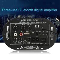 "12V 24V 220V 8 "" / 10"" Bluetooth Scheda Amplificatore USB FM TF del Giocatore"