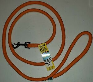 """Yellow Dog Design Round Braided Pet Leash Lead 1/2"""" x 72"""" Various Colors, USA"""