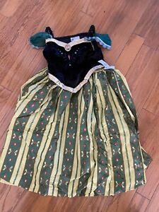 authentic Disney Anna Costume new size large 10/12