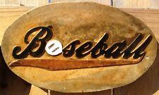 Baseball plaque/stone 10, stepping stone,  plastic mold, concrete mold,