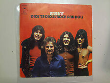 """ARGENT:(Ex Zombies)God Save Rock And Roll To You-Christmas-Spain 7""""1973 Epic PSL"""