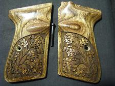 Walther PPKS PPK/S Walnut Pistol Grips OAK TREE Chkd/Eng Design f/U.S.-MADE PPKS