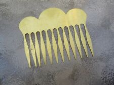 Scallop Hair Combs Solid Brass Hair Combs Vintage New Made in USA