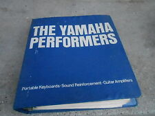 1975 YAMAHA PERFORMERS - SERVICE MANUAL BINDER -  25 MANUALS
