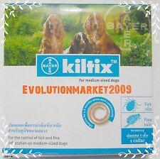 "Bayer Kiltix Tick Collar for Dogs "" 5 Month Long life "" Flea & Tick control !!!"