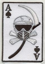 PAINTBALL DEATH CARD Shoulder PATCH Sticker angel
