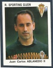 PANINI FUTBOL 93-94 SPANISH -#276-R.SPORTING GIJON-JUAN CARLOS ABLANEDO II